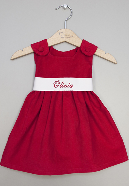 Personalized dresses for babies and girls