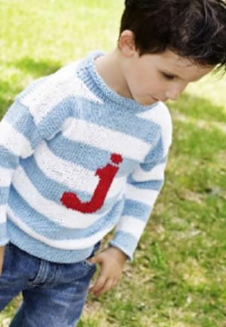 Personalized childrens sweaters
